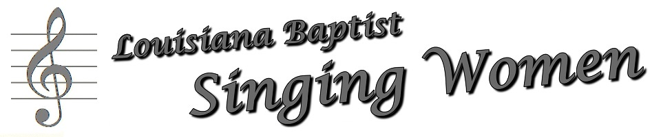 Louisiana Baptist Singing Women - logo